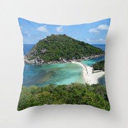 Nangyuan Island Throw Pillow