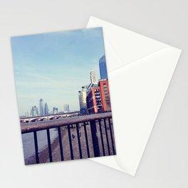 Vintage london skyline Stationery Cards