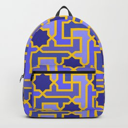 Moroccan pattern Backpack