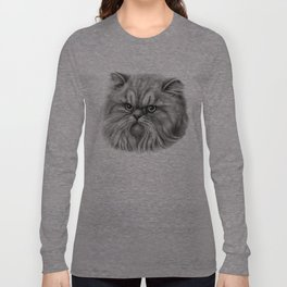 Persian Cat SK072 Long Sleeve T-shirt