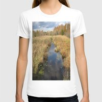 georgia T-shirts featuring Georgia Landscape by Rosie Brown
