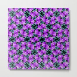 Springtime blossoms in purple Metal Print