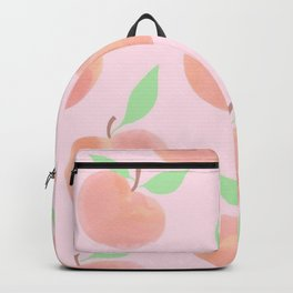 Pastel Pink and Orange Summer Peaches - Backpack
