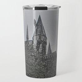 Castle Embossing Travel Mug