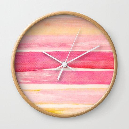 colour play III Wall Clock