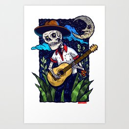 Guitarras de Amor Art Print