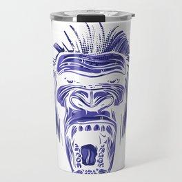 GORILLA KING KONG - Blue Travel Mug
