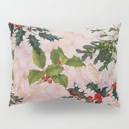 Holly and Mistletoe Pillow Sham