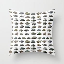 Various WW2 Tanks Throw Pillow