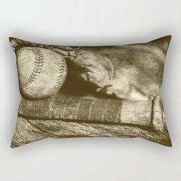 Vintage Baseball Memories 9 Rectangular Pillow