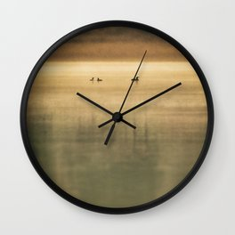 The lake Wall Clock