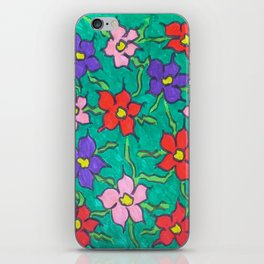 Sweet Floral Garden iPhone Skin