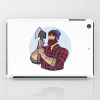 jack daniels iPad Cases featuring Jack by Kasia Wo