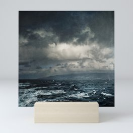 wild ocean Mini Art Print