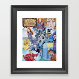 Come Along Pond Framed Art Print