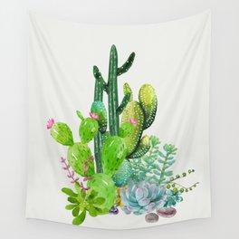 Cactus Garden II Wall Tapestry