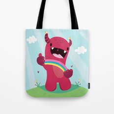 Nature monster Tote Bag