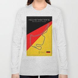 Hockenheim Racetrack Long Sleeve T-shirt
