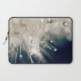 dandelion evening blue Laptop Sleeve