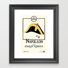 Stanley Kubrick's NAPOLEON (1973) Framed Art Print