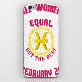 Best-Women-Born-On-February-28-Pisces---Sao-chép iPhone Skin