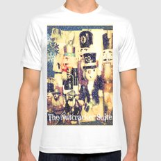 The Nutcracker Suite Mens Fitted Tee MEDIUM White