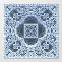frozen Canvas Prints featuring Frozen by Lyle Hatch