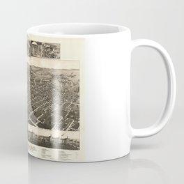 Bird's Eye View of Kalamazoo, Michigan (1883) Coffee Mug