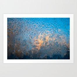 Frost IV Art Print