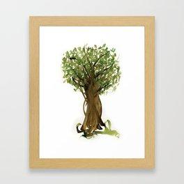 The Fortune Tree #3 Framed Art Print