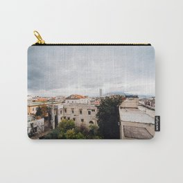 View of Naples with clouds Carry-All Pouch