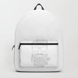 Bird Hipster bleu Backpack