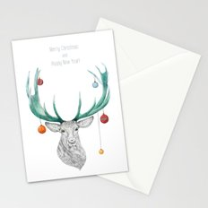 Christmas Deer Stationery Cards