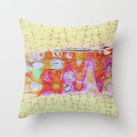 charmaine olivia Throw Pillows featuring Charmaine by Ingrid Padilla
