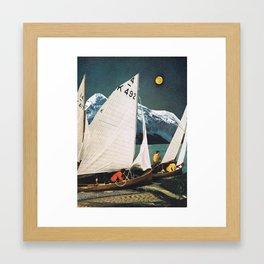 """""""Moon"""" Framed Art Print"""