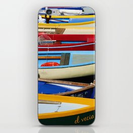 Small Boats iPhone Skin