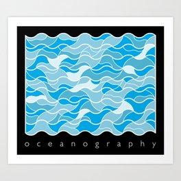 Oceanography Art Print