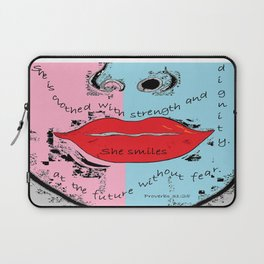 The Proverbs 31 Woman Laptop Sleeve