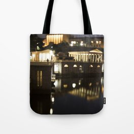 Philly Night Reflections Tote Bag