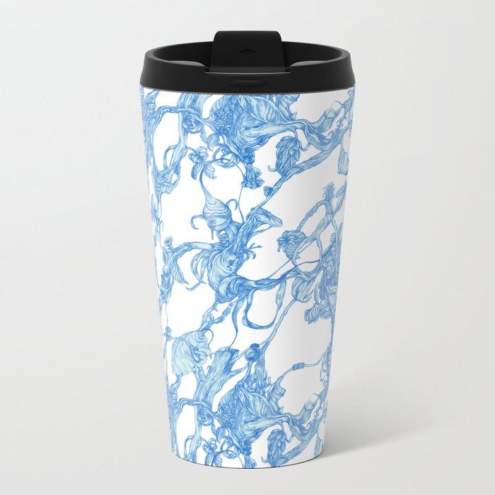 pattern-life Metal Travel Mug
