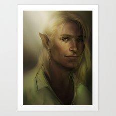 Dragon Age - Zevran Art Print