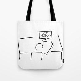 mechanical engineering engineer Tote Bag