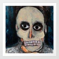 Self-Portrait Art Print
