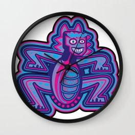 Mexican Restaurant Monster Wall Clock