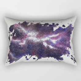 Galaxy Splash Rectangular Pillow