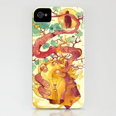 Glow Green Slim Case iPhone (4, 4s)