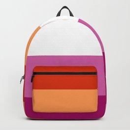 New Lesbian Flag Backpack