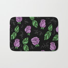 Floral background Bath Mat