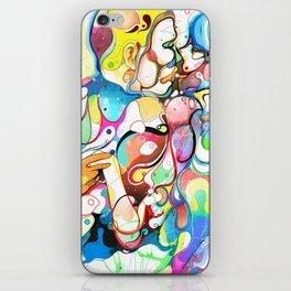 Kiss Like Lovers Do iPhone Skin