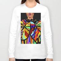 big poppa Long Sleeve T-shirts featuring Big Poppa by Hannah  Aryee